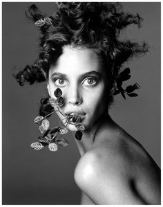 Christy Turlington by Steven Meisel