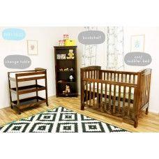 Bertini Basics - Bertini Renaissance Cot/Toddler bed, Bertini Bookcase, Bertini baby change table, baby furniture Melbourne