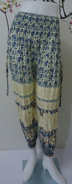 Hey, I found this really awesome Etsy listing at https://www.etsy.com/listing/192093491/blue-elephants-trouser-harem-ali-baba