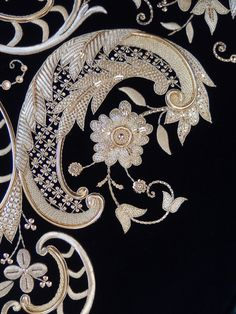 Sebastian embroidery workshop Marchante