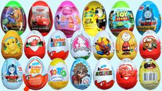 Kinder Surprise Eggs Superman Spiderman Angry Birds Surprise Eggs Chocolate Peppa Pig CARS 2
