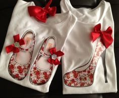 matching doughter and mom shirts and can be matching with their shoes Mandarina Camisetas Diy Shirt, My T Shirt, Diy Fashion, Womens Fashion, Love Sewing, My Boutique, Refashion, Diy Clothes, Baby Dress