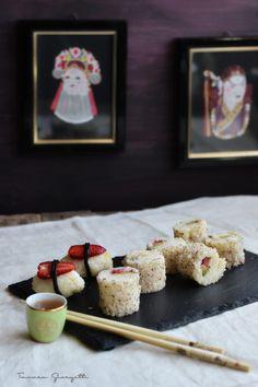 sushi dolce alla frutta
