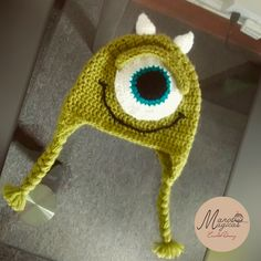 Mike Wazoswki Crochet hat