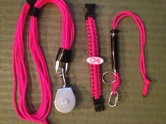 Pink EDC Gear Value pack by sharpshooterkeychain on Etsy