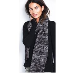 Victoria's Secret scarf Gray scarf Victoria's Secret Accessories Scarves & Wraps