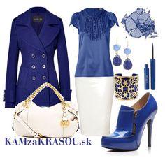 V námorníckej modro-bielej do práce #kamzakrasou #sexi #love #jeans #clothes #coat #shoes #fashion #style #outfit #heels #bags #treasure #blouses #dress
