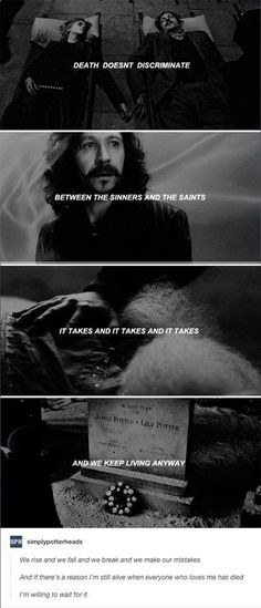 """This post that reminds us of everything the marauders lost. 