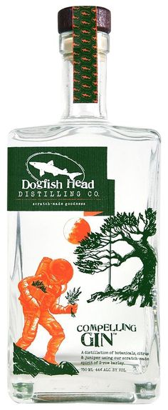 Dogfish Head Distilling Co. Rum Bottle, Liquor Bottles, Gins Of The World, Gin Brands, Best Gin, Craft Gin, Gin Bar, Scotch Whiskey, Jars