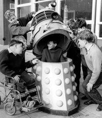 A man, a hatch, a Dalek... Panama! Wait, that doesn't work.