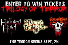 Enter to win a four-pack of Trilogy of Terror tickets #utcontests