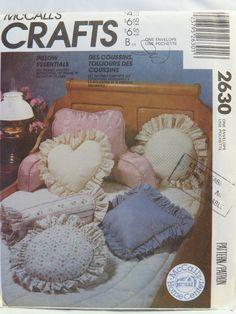 McCall's 2630 Pillow Essentials