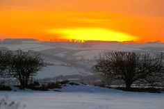 Even in the snow, Yorkshire is stunning.