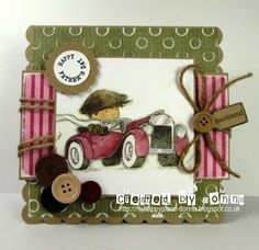 LOTV - Vintage Boys Art Pad with Woodland Wishes and Butterfly Kisses Paper Pads and Family Sentiment Tags by Donna Mosley