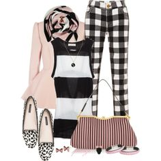 """Little Bow Pink"" by rockreborn on Polyvore"