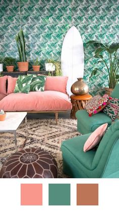 Colors That Go With Pink (Without the 80s Flashbacks)   Apartment Therapy