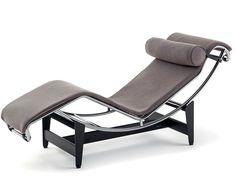 Chaise Longue 2017 by Le Corbusier, Pierre Jeanneret, Charlotte Perriand for Cassina Chaise Chair, Chaise Lounges, Lounge Chairs, Vitra Chair, Sofa Bed, Lounge Design, Deco Furniture, Cool Furniture, Bedroom Furniture