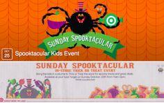 FREE Target Sunday Spooktacular Kids Halloween Event October 25th!