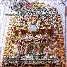 Vamos de #compras a #Taxco y #Cuernavaca el 22 de octubre saliendo de #Veracruz #Cardel y #Xalapa ¡ Reserva Tu Lugar YA !  Más información en: Tels: 01 (229) 202 65 57 y 150 83 16  WhatsApp: 2291476029 y 2291508316 Email / Hangouts: turismoenveracruz@gmail.com http://www.turismoenveracruz.mx/2017/09/viajemos-a-cuernavaca-y-taxco-este-17-de-octubre-2017/
