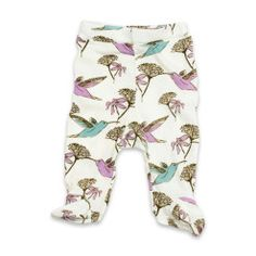 Milkbarn Footed Pant Hummingbird