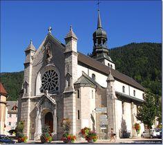 Thônes - The church - Haute-Savoie dept. - Rhône-Alpes région, France     ...www.hautesavoiephotos.com