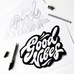 lettering 2015 on Behance Graffiti Lettering Fonts, Handwritten Typography, Hand Lettering Art, Graffiti Alphabet, Types Of Lettering, Lettering Design, Cursive Bubble Letters, Geometric Mandala Tattoo, Sacred Heart Tattoos