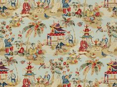 XIAN chinoiserie. At 500.00 / yard its not happening anytime soon...