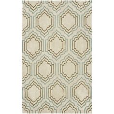 @Overstock - Bring a touch of today's freshest color and crisp design to your home with this avant-garde inspired rug. Using museum inspired designs and colors from the latest fashion trends, this floor rug features an ivory background.http://www.overstock.com/Home-Garden/Handmade-Avant-garde-Morocco-Beige-Rug-8-x-10/6155461/product.html?CID=214117 $368.99