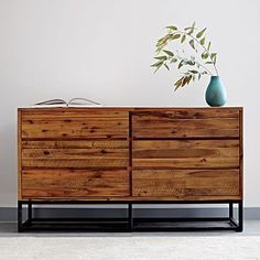 Logan 6-Drawer Dresser -  Natural #westelm