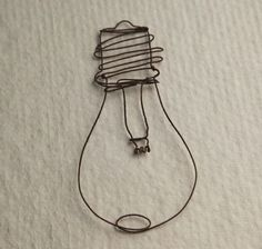 Use wire to make 2 sculpture interpretations of famous works of art, or parts of.  Guernica's sun?