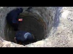 Сливная яма из бетонных колец Как сделать