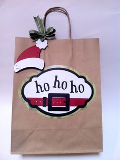 I love this for a gift bag & tag!