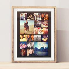 Design en plakat med alle dine favorit-fotos fra året der gik. Dining, Frame, Home Decor, Picture Frame, Food, Decoration Home, Room Decor, Frames, Home Interior Design