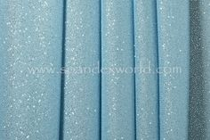 Glitter/Pattern Mesh (Light Blue/Blue sparkles)