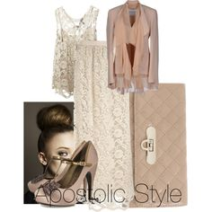 """Lace. apostolic style"" by emmyholloway on Polyvore"
