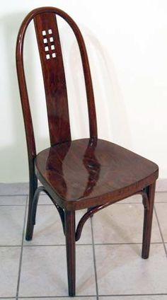THONET JUGENDSTIL SESSEL JOSEF HOFFMANN ART NOUVEAU CHAIR N:. 636 UM 1910 TOP   eBay