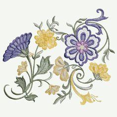 Swirl of Flowers $20.00