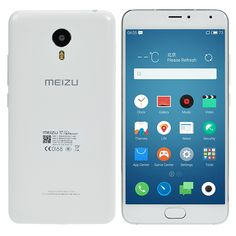 Meizu metal FDD-LTE 5.5-inch 16GB ROM MTK Helio X10 2.0GHz Octa-core Smartphone From 249,= for Euro 173,15