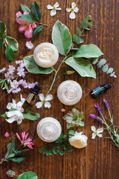 diy essential oil body butter | via: style me pretty living