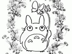 Check out more Totoro Coloring Pages at http://www.squidoo.com/my ...
