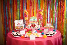 Sesame Street inspired Birthday Party Ideas | Photo 12 of 41 | Catch My Party