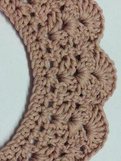 cosetes petites: Crochet Peter Pan Collar