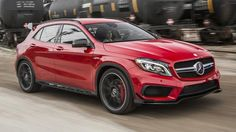 BBC - Autos - GLA45 AMG is Mercedes' little laugh factory
