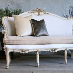 vintage settee