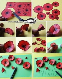 krokotak | Poppies art We are want to say thanks if you like to share this post to another people via your facebook, pinterest, google plus or twitter account. Right Click to save picture or tap and hold for seven second if you are using iphone or ipad. Source by : krokotak.com