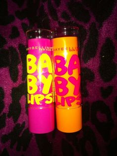 baby lips, is so soft and it glides on. Plus i love the colors and the smell of em!