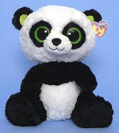 Bamboo (medium) - Panda - Ty Beanie Boos Birthday: June 7