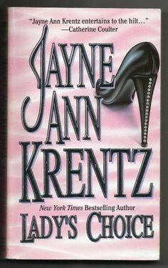 Vintage 1989 Lady's Choice Jayne Ann Krentz Paperback Book Fiction Romance