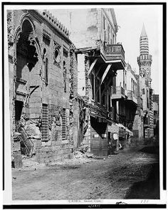 LibraryofCongress_Cairo. Street view_1860to1890_2