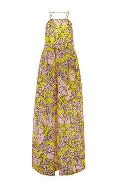 d1a77f915a Floral Silk Maxi Dress. Moda Operandi